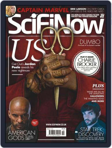SciFi Now March 1st, 2019 Digital Back Issue Cover