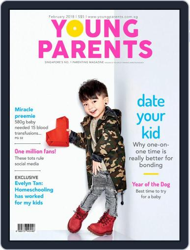 Young Parents (Digital) February 1st, 2018 Issue Cover