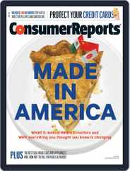 Consumer Reports (Digital) Subscription July 1st, 2015 Issue