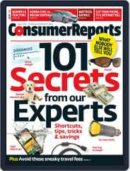 Consumer Reports (Digital) Subscription May 1st, 2013 Issue