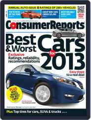 Consumer Reports (Digital) Subscription April 1st, 2013 Issue