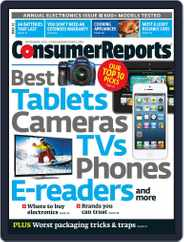 Consumer Reports (Digital) Subscription December 1st, 2012 Issue