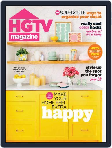 Hgtv (Digital) January 1st, 2020 Issue Cover