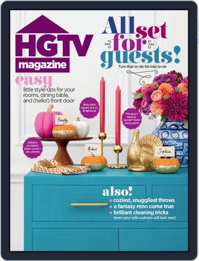 Hgtv (Digital) November 1st, 2019 Issue Cover