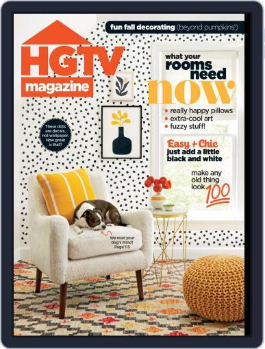 Hgtv (Digital) October 1st, 2019 Issue Cover