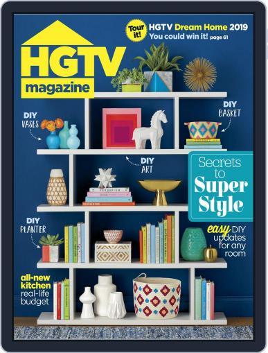 Hgtv (Digital) January 1st, 2019 Issue Cover
