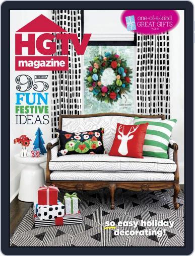 Hgtv (Digital) December 1st, 2018 Issue Cover