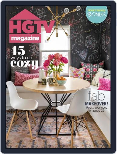 Hgtv (Digital) November 1st, 2018 Issue Cover
