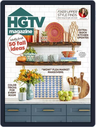 Hgtv (Digital) October 1st, 2018 Issue Cover