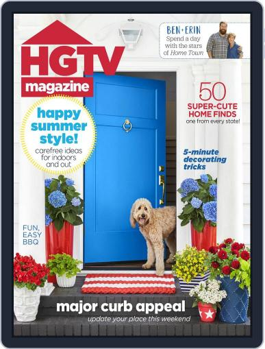 Hgtv (Digital) July 1st, 2018 Issue Cover