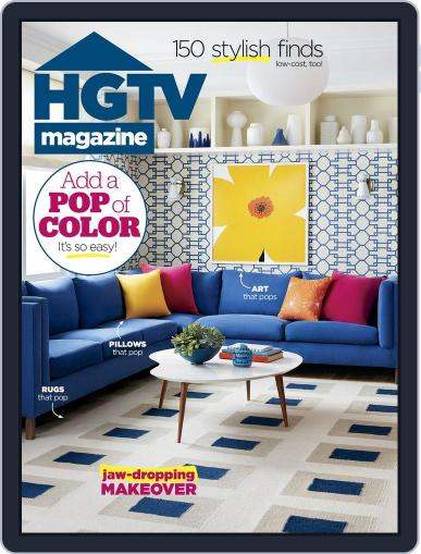 Hgtv (Digital) May 1st, 2018 Issue Cover