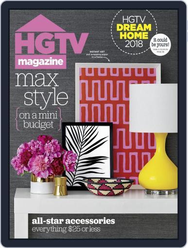 Hgtv (Digital) January 1st, 2018 Issue Cover