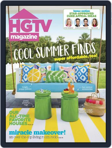 Hgtv (Digital) July 1st, 2017 Issue Cover