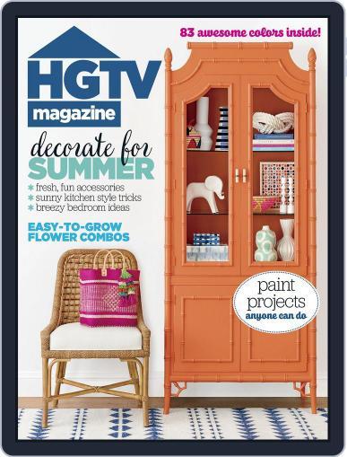 Hgtv (Digital) June 1st, 2017 Issue Cover