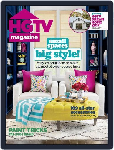 Hgtv (Digital) January 1st, 2017 Issue Cover