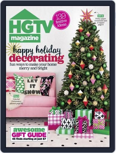 Hgtv (Digital) December 1st, 2016 Issue Cover