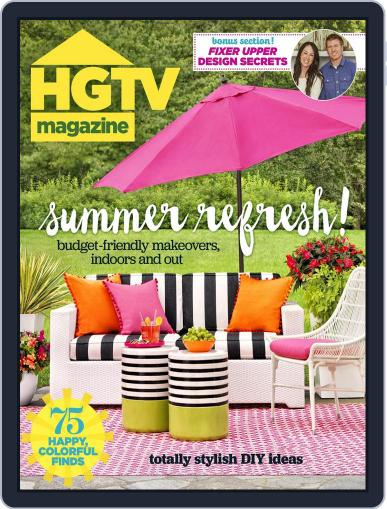 Hgtv (Digital) July 1st, 2016 Issue Cover