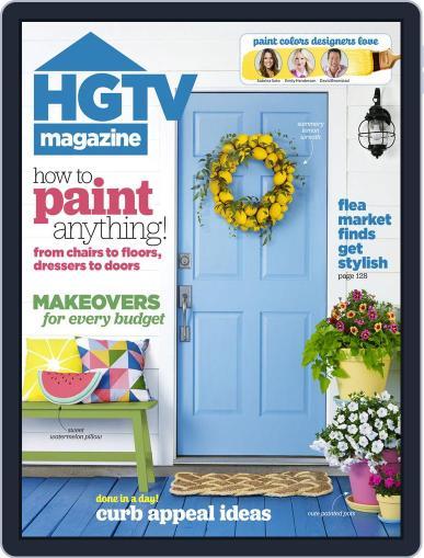 Hgtv (Digital) June 1st, 2016 Issue Cover