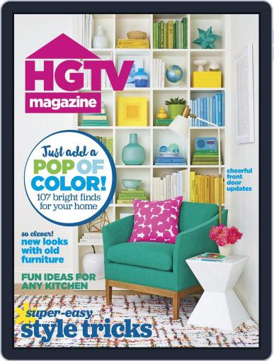 Hgtv (Digital) May 1st, 2016 Issue Cover