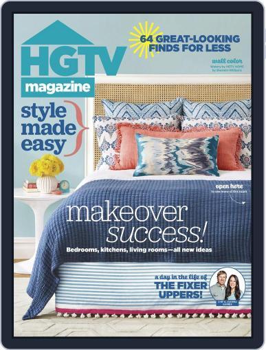 Hgtv (Digital) April 1st, 2016 Issue Cover