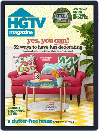 Hgtv (Digital) March 1st, 2016 Issue Cover