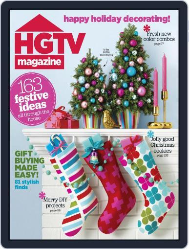 Hgtv (Digital) December 1st, 2015 Issue Cover