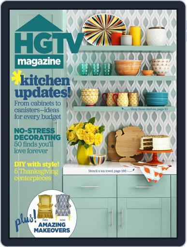 Hgtv (Digital) November 1st, 2015 Issue Cover