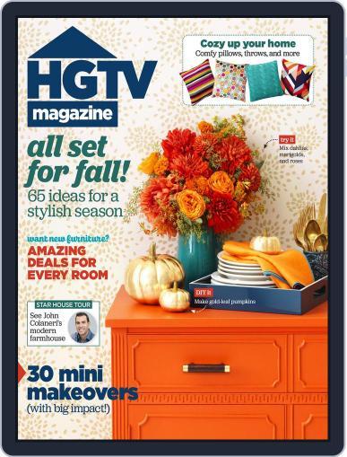 Hgtv (Digital) October 1st, 2015 Issue Cover
