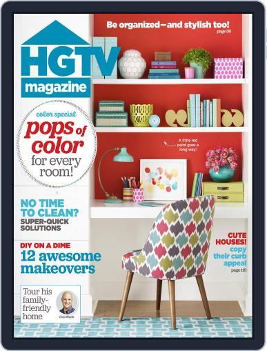 Hgtv (Digital) September 1st, 2015 Issue Cover