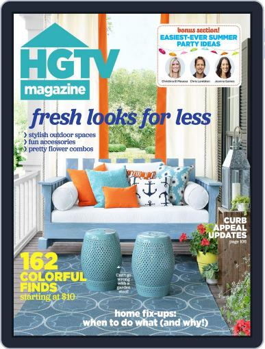 Hgtv (Digital) July 1st, 2015 Issue Cover