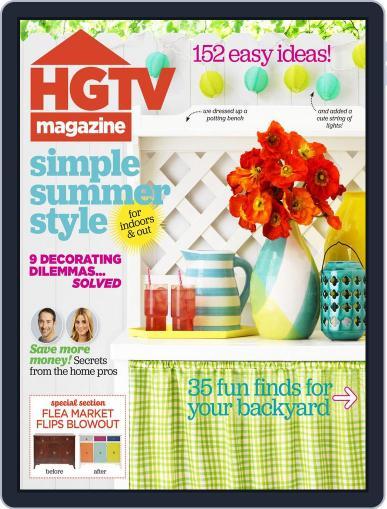 Hgtv (Digital) June 1st, 2015 Issue Cover