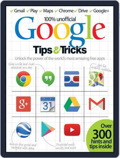 Google Tips & Tricks Magazine (Digital) August 27th, 2014 Issue Cover