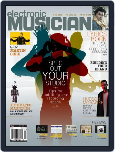 Electronic Musician (Digital) July 1st, 2015 Issue Cover
