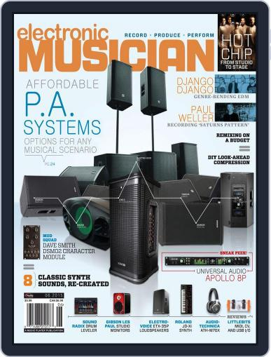 Electronic Musician (Digital) June 1st, 2015 Issue Cover