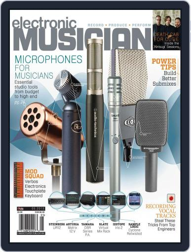 Electronic Musician (Digital) April 7th, 2015 Issue Cover