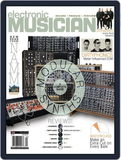Electronic Musician (Digital) April 1st, 2015 Issue Cover