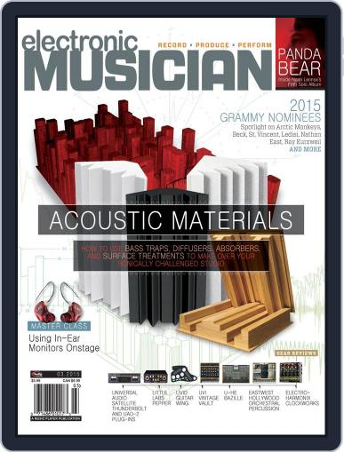 Electronic Musician (Digital) March 1st, 2015 Issue Cover