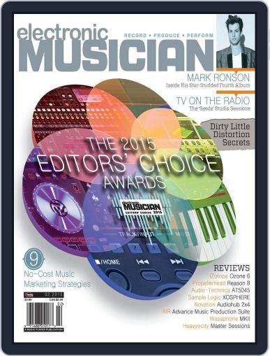 Electronic Musician (Digital) January 20th, 2015 Issue Cover