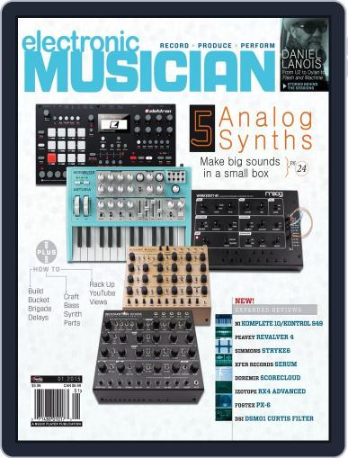 Electronic Musician (Digital) January 16th, 2015 Issue Cover