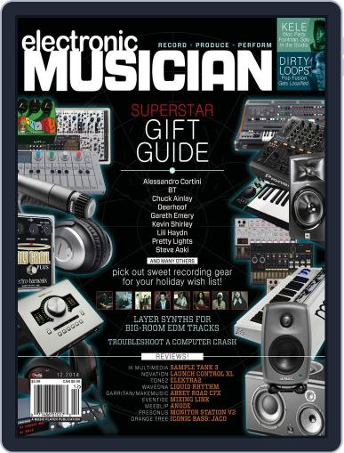 Electronic Musician (Digital) November 12th, 2014 Issue Cover