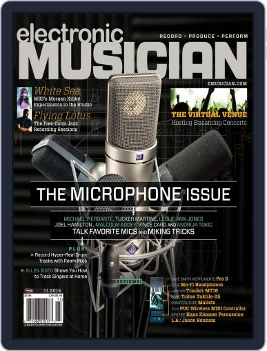 Electronic Musician (Digital) October 14th, 2014 Issue Cover