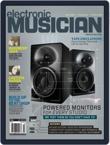 Electronic Musician (Digital) September 9th, 2014 Issue Cover
