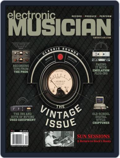 Electronic Musician (Digital) August 12th, 2014 Issue Cover