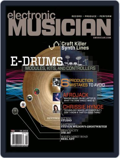 Electronic Musician (Digital) July 15th, 2014 Issue Cover
