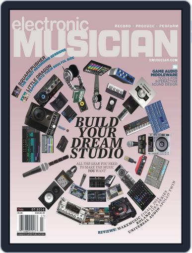 Electronic Musician (Digital) June 10th, 2014 Issue Cover