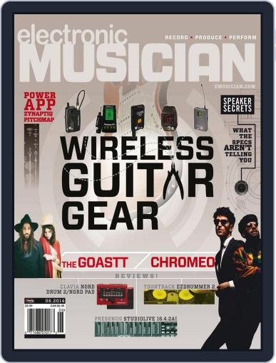 Electronic Musician (Digital) May 13th, 2014 Issue Cover
