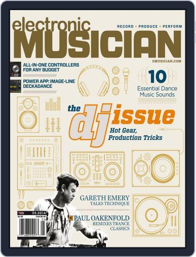 Electronic Musician (Digital) April 8th, 2014 Issue Cover