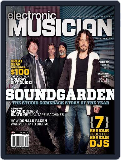 Electronic Musician (Digital) November 21st, 2012 Issue Cover