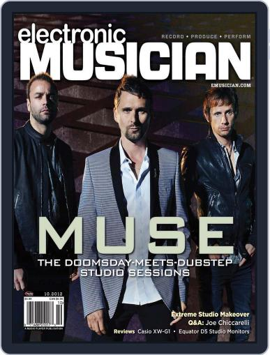 Electronic Musician (Digital) September 18th, 2012 Issue Cover