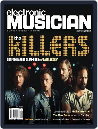 Electronic Musician (Digital) August 22nd, 2012 Issue Cover